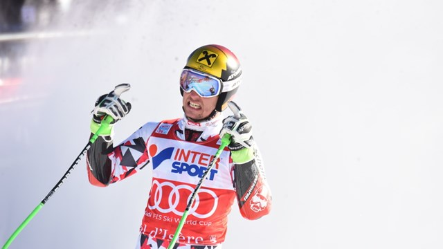Mistake Takes Ligety Out of Val d'Isere GS