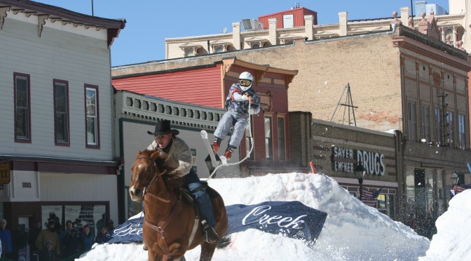New Mexico Resort to Host Skijoring Races