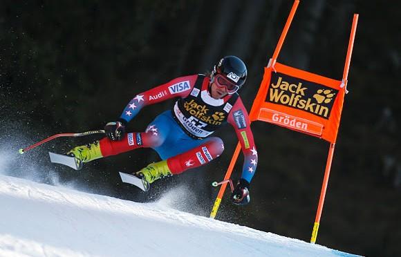 Bennett Surprises at Val Gardena Downhill