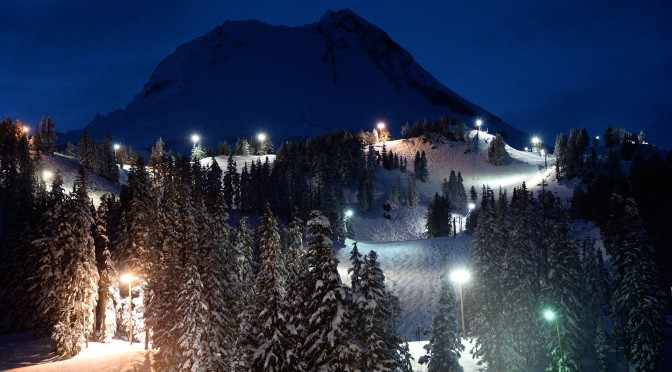 New Year's Eve Celebration Explodes at Mt. Hood Meadows