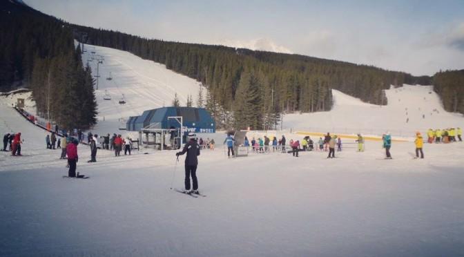 Nakiska Ski Area on Monday. (photo: Nakiska)