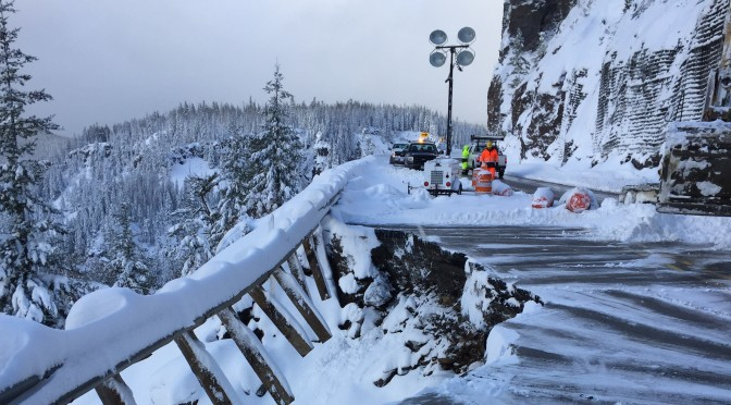 Road Repairs To Allow White Pass To Open First Tracks