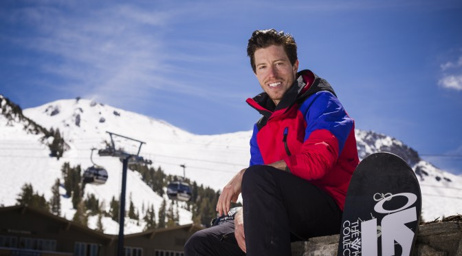 Shaun White at Mammoth Mountain. (photo: Mammoth Resorts)