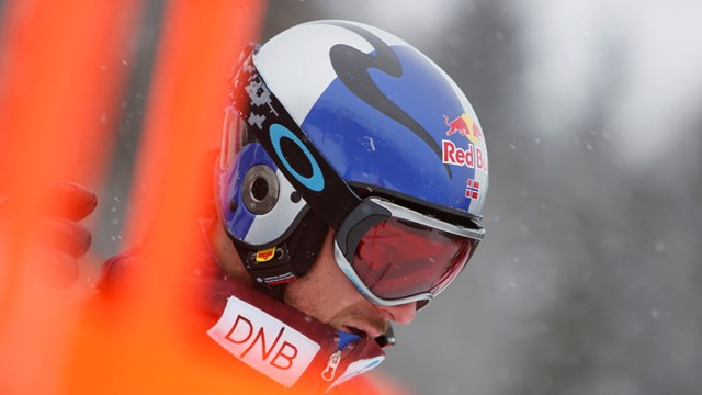 Norway's Aksel Lund Svindal in Wengen. (photo: FIS/Agence Zoom)