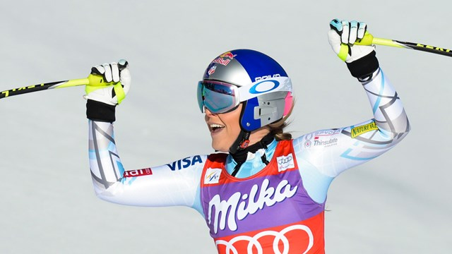 Vonn Breaks Downhill Record