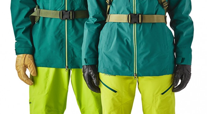 The PowSlayer jacket and bibs from Patagonia. (photo: Patagonia)