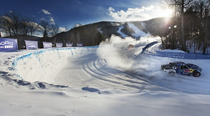Ricky Johnson and Bryce Menzies compete in the Red Bull Frozen Rush at Sunday River in 2015. (file photo: Brian Nevins/Red Bull Content Pool)