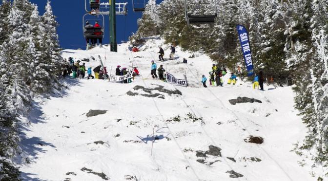The starting gate for the Castlerock Extreme at Sugarbush, Vt. (file photo: Chris James/Ski The East)