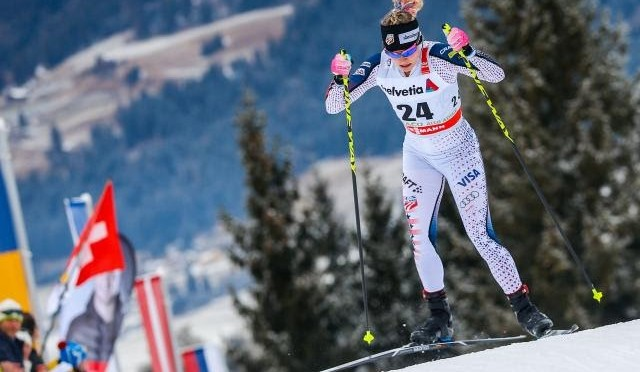 Diggins Wins First Individual World Cup