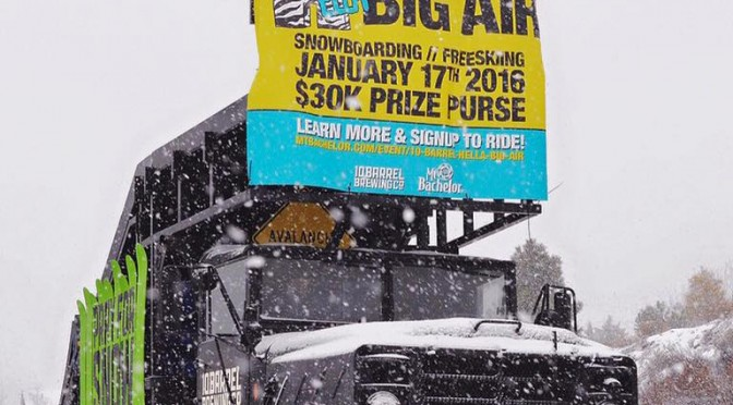90s-Themed Hella Big Air Competition at Mt. Bachelor Jan. 17