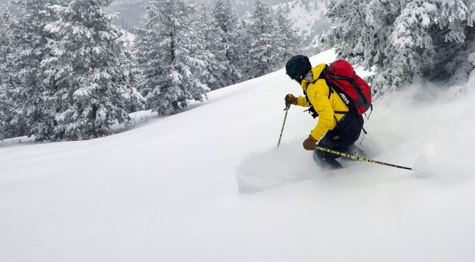 Whisper Ridge Cat Skiing: Just East of Paradise