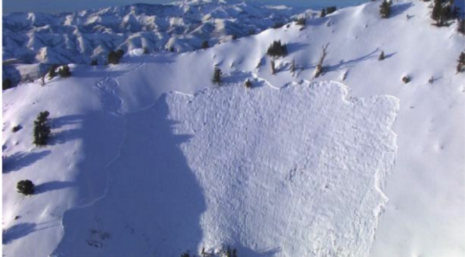 UPDATED: Skier Meets Untimely End in Utah Avalanche