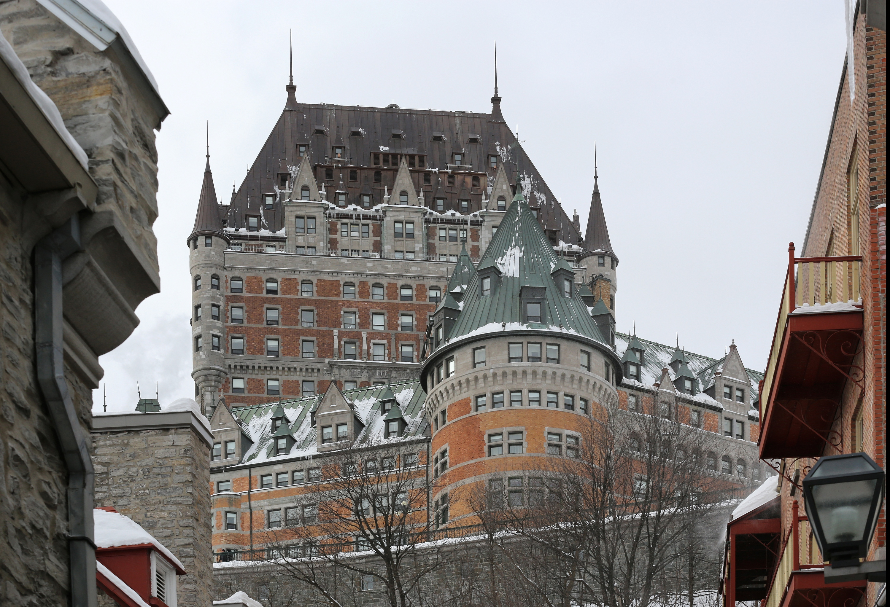 The Château Frontenac is the iconic centerpiece of the Old Québec City skyline. (Photo: FTO/Martin Griff)