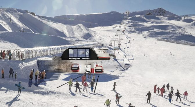 Construction on Cardrona's new Chondola lift is set to get underway next month. (image: Cardrona Alpine Resort)