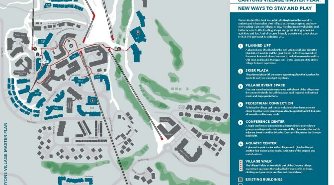 The new Canyons Village Master Plan (image: Replay Resorts)