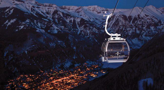 Telluride's Mountain Village Gondola turns 20 this winter. (file photo: Telluride Ski Resort)