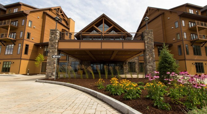 The Lodge at Burke Mountain (photo: Burke Mountain Resort)