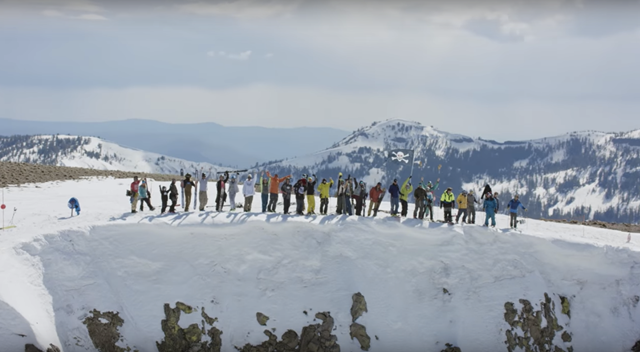 "A scene from TGR's new film ""Tight Loose"". (photo: Teton Gravity Research)"