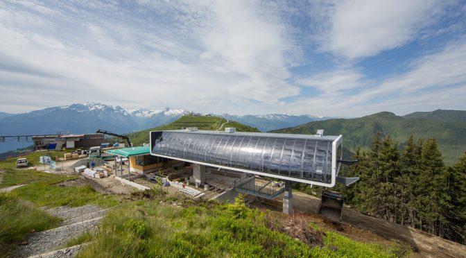 New Austrian Gondola Reopens Ski Terrain Closed for 30 Years