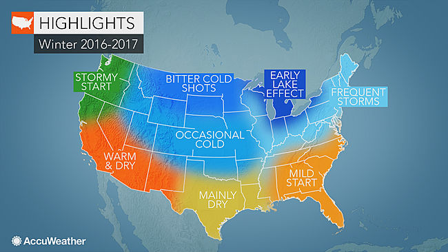 Accuweather Predicts Cold, Snowy Winter in the Northeast