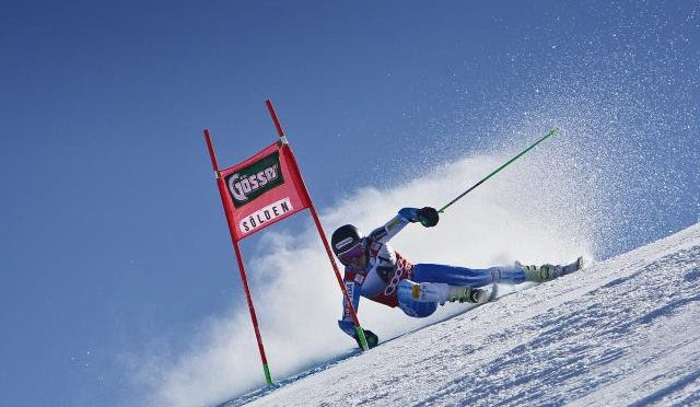 Ted Ligety skied to a win in last year's Soelden World Cup opener. (file photo: Getty Images/Agence Zoom-Alexis Boichard via USSA)