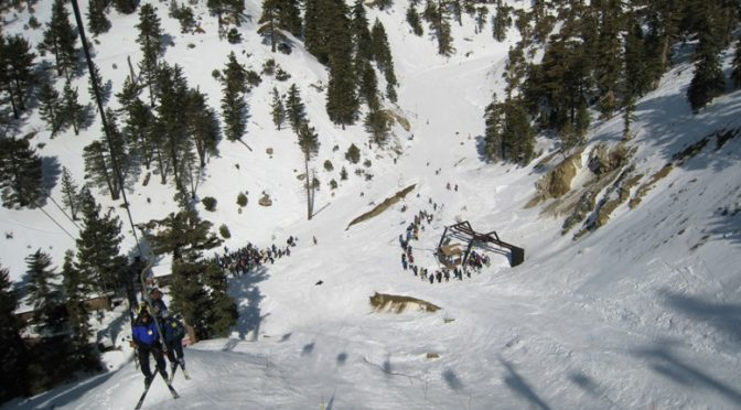 Mt. Baldy offers some of southern California's most challenging ski terrain. (FTO file photo: Tony Crocker)
