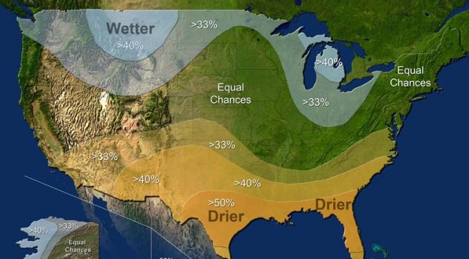 NOAA Issues Winter Weather Outlook