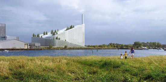Copenhagen to Build Ski Slope Atop New Power Plant