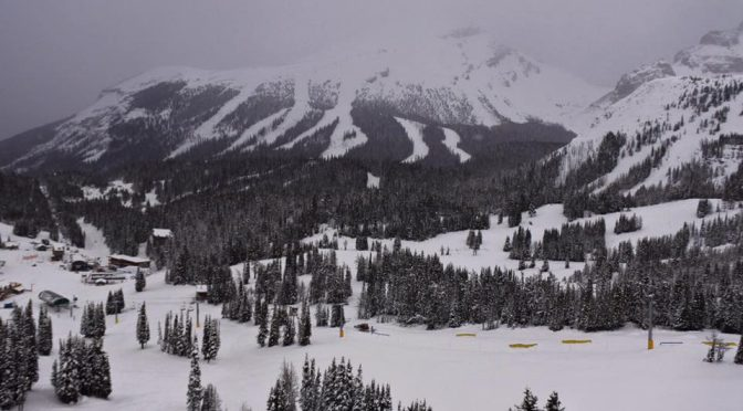 Sunshine Village is more than ready for first chair. (photo: Sunshine Village)