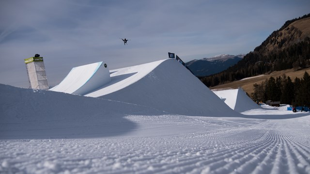 Stevenson Wins World Cup Slopestyle