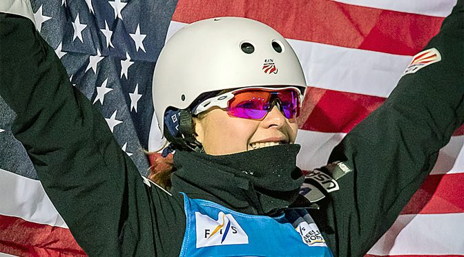 Ashley Caldwell (FTO photo: Tom Kelly)
