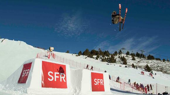McRae Williams grabs his first World Cup win of the season Saturday Font Romeu, France. (photo: FIS-SFR Freestyle Tour-Nico Schlosser)