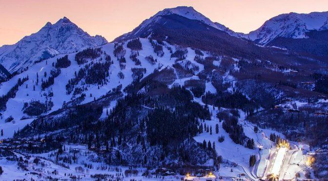 The X Games competition venue at Buttermilk Mountain in Aspen, Colo. (photo: ESPN)
