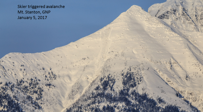 Avalanche Kills Backcountry Skier in Glacier National Park