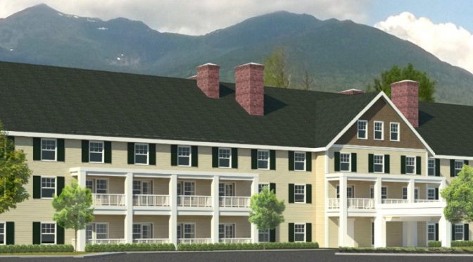 New Hotel To Be Built at Pinkham Notch