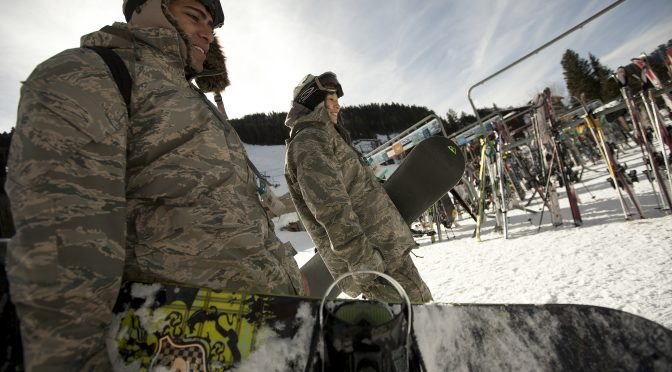 Taos Hosts Nation's Largest Military Family Ski Event