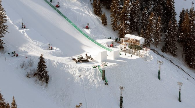 Olympic Aerials Qualification Begins at Deer Valley