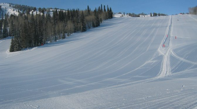 Solitude's Main Street run will host a U.S. Grand Prix skiercross and snowboardcross course this week. (file photo: FTO/Marc Guido)