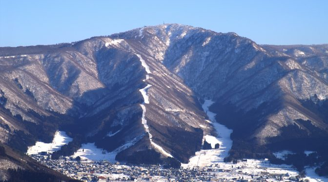 Mt. Kenashi, at Nozawa Onsen Snow Resort in Japan. (file photo: Hideyuki Kamon)