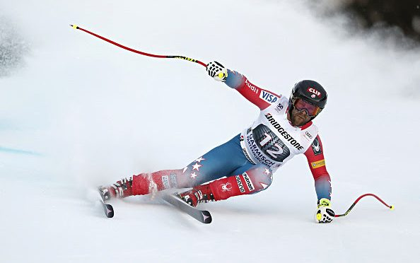 American Travis Ganong Wins Kandahar Downhill, Nyman Injured