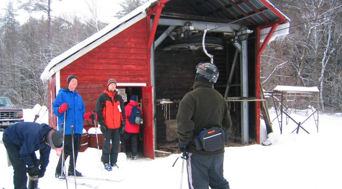 One of Hickory Ski Center's throw-back poma lifts. (FTO file photo: Marc Guido)