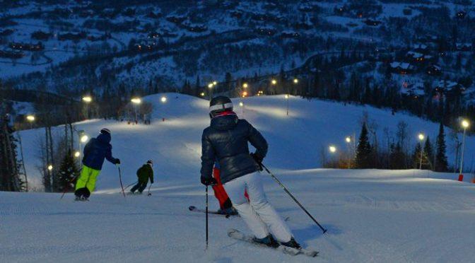 Night skiing at Steamboat. (file photo: Steamboat Ski Area/Larry Pierce)