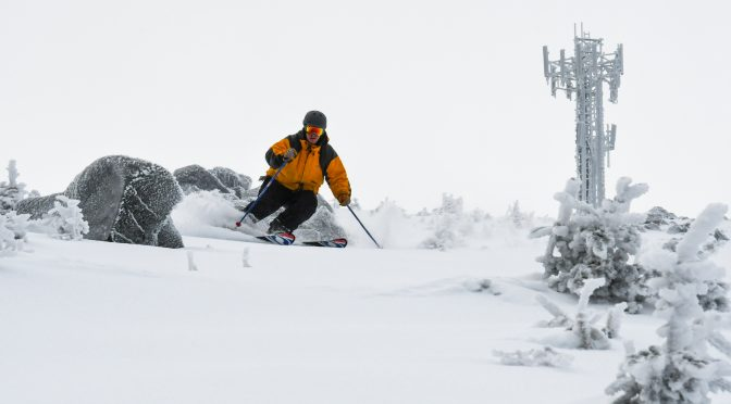 Sugarloaf's famed Snowfields are now open for the first time in two years. (photo: Sugarloaf)