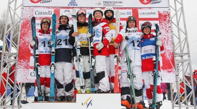 Canada's Women's Moguls Team Defends Podium Sweep at Val Saint-Côme