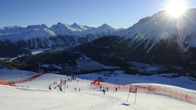 St. Moritz is ready to welcome the world. (photo: FIS/Agence Zoom)