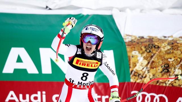 Schmidhofer Wins Worlds Opening Super G as Vonn Skis Out