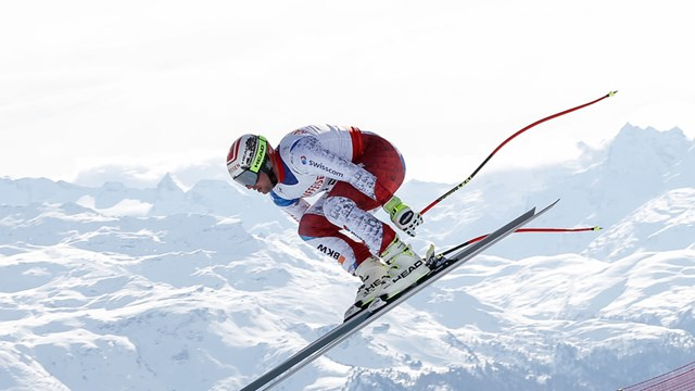 Feuz Wins World Champs Downhill