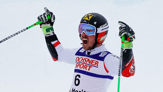 Hirscher Takes World Champs GS