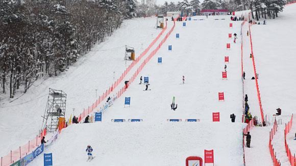 Mogul Skiers Gear Up for Two Events in Japan