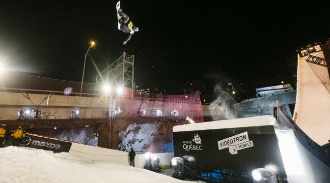 Gasser and McMorris Top Quebec City Big Air